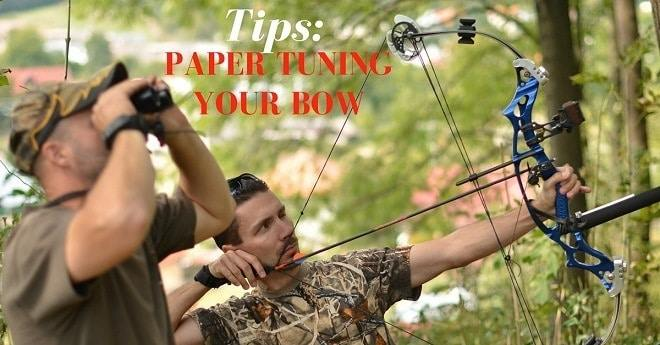how to paper tune a compound bow