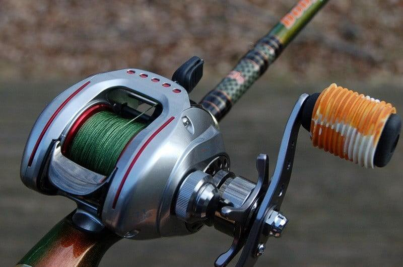 How to put a line on a baitcaster